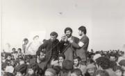 حضور حضرت آیت الله جباری (ره) در مبارزات انقلاب به روایت تصویر