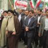 راهپیمایی اعتراض آمیز مردم بهشهر در پی هتک حرمت به حرم حجر بن عدی
