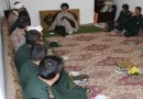 دیدار جمعی از پاسداران سپاه ناحیه بهشهر با حضرت آیت الله جباری در روز پاسدار