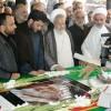 مراسم سومین و هفتمین روز ارتحال حضرت آیت الله جباری + گزارش تصویری