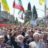 راهپیمایی مردم بهشهر در محکومیت حمله رژیم منحوس آل سعود به مردم مظلوم و بی دفاع یمن