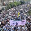 راهپیمایی روز قدس شهرستان بهشهر به روایت تصویر (۱۳۹۴)