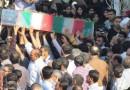تصاویر مراسم تشییع شهدا غواص و گمنام در بهشهر