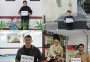 مرگ بر آمریکا در کمپین انزجار از کفر دانش آموزان بهشهری