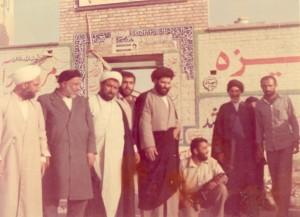 حضور حضرت آیت الله جباری بهمراه جمعی از روحانیون بهشهر در منطقه عملیاتی جنوب