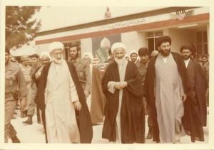 حضور حضرت آیت الله جباری در یکی از پادگان های ارتش در جنوب کشور