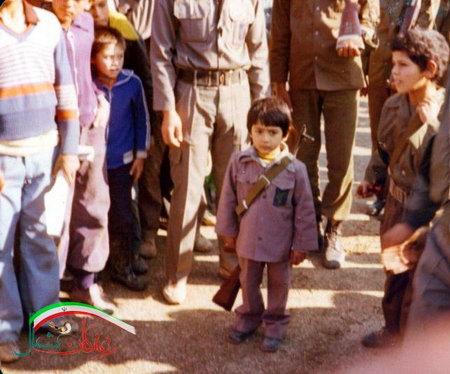 شهید ابوعمار ، شهید حبیب الله افتخاریان ، فرزند پسرش