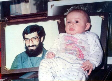 شهید ابوعمار ، شهید حبیب الله افتخاریان ، فرزند