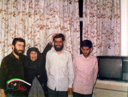 شهید ابوعمار ، شهید حبیب الله افتخاریان ، خانواده