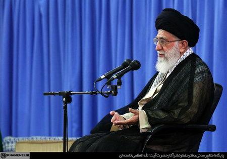 امام خامنه ای (س) در دیدار با مسئولان و سفراى کشورهاى اسلامى