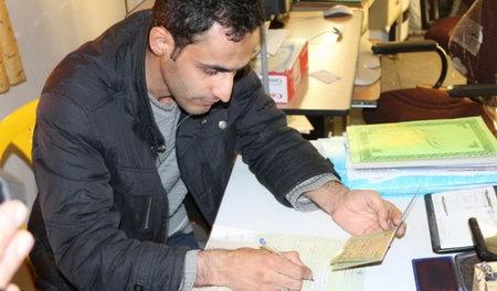 نوزاد 49 روزه بهشهری به عضویت بسیج