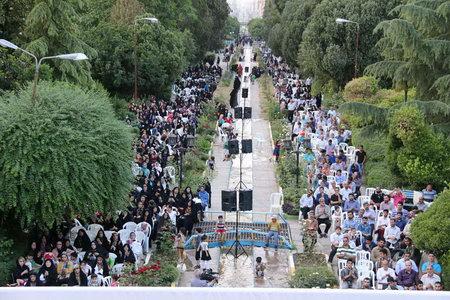 جشن میلاد حضرت علی اکبر (ع) حضرت ولی عصر(عج) بهشهر پارک ملت