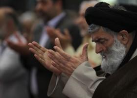 تصاویر حضرت آیت الله جباری در آخرین نماز جمعه 1393/06/07
