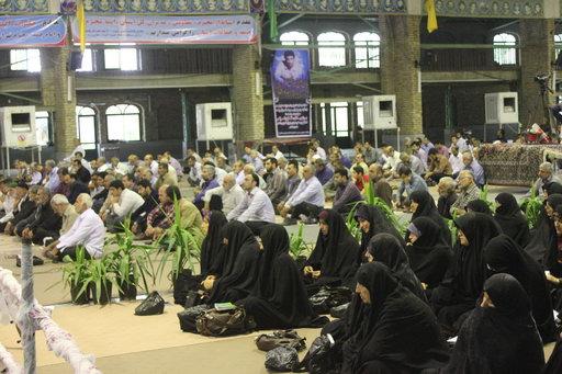 گرامیداشت سالگرد ارتحال حضرت آیت الله جباری (ره) برگزاری دعای ندبه مصلی بهشهر