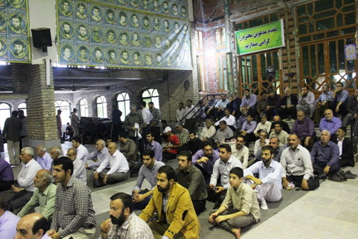 اولین سالگرد ارتحال حضرت آیت الله جباری(ره) و نهمین یادواره ۸۰۰ شهید بهشهر