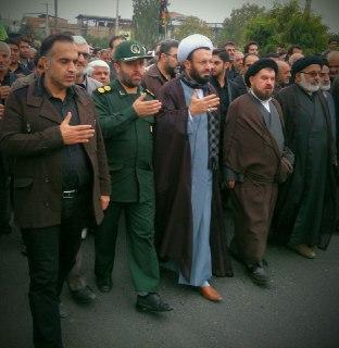 پیاده روی اربعین حرم تا حرم در بهشهر 1394