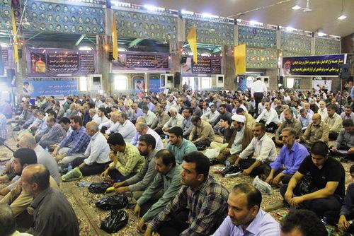 سومین سالگرد ارتحال حضرت آیت الله جباری و یازدهمین یادواره سرداران و ۸۰۰ شهید بهشهر