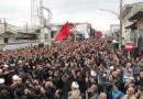تجمع بزرگ عزاداران حسینی شهرستان بهشهر در قاب تصویر