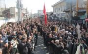 گزارش تصویری از تجمع بزرگ عزاداران حسینی شهرستان بهشهر در روز تاسوعا